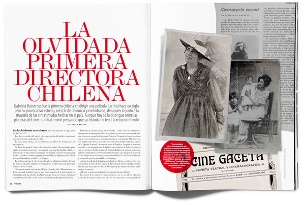 LA OLVIDADA PRIMERA DIRECTORA CHILENA
