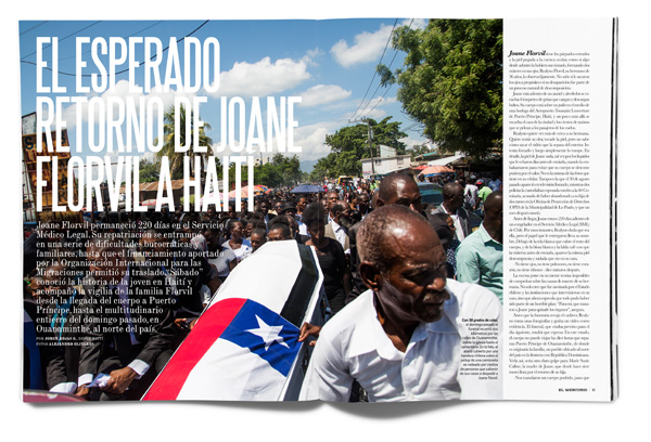 El esperado retorno de Joane Florvil a Haití