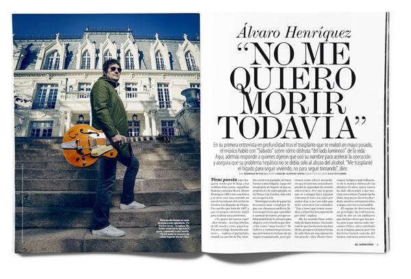 Álvaro Henríquez: No me quiero morir todavía