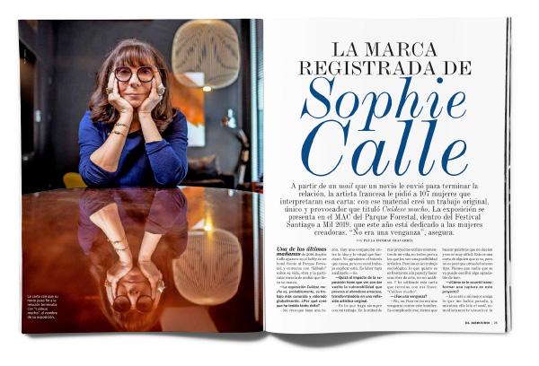 LA MARCA REGISTRADA DE SOPHIE CALLE
