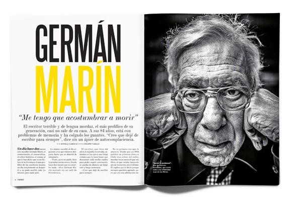 """Germán Marín """"Me tengo que acostumbrar a morir"""""""